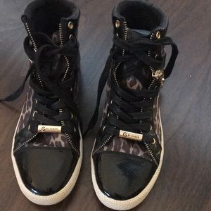 G by Guess High Top sneakers animal printed